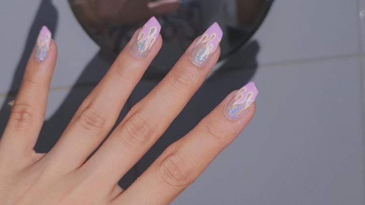 Бьюти тренд в Instagram: ногти в форме помады – фото и видео