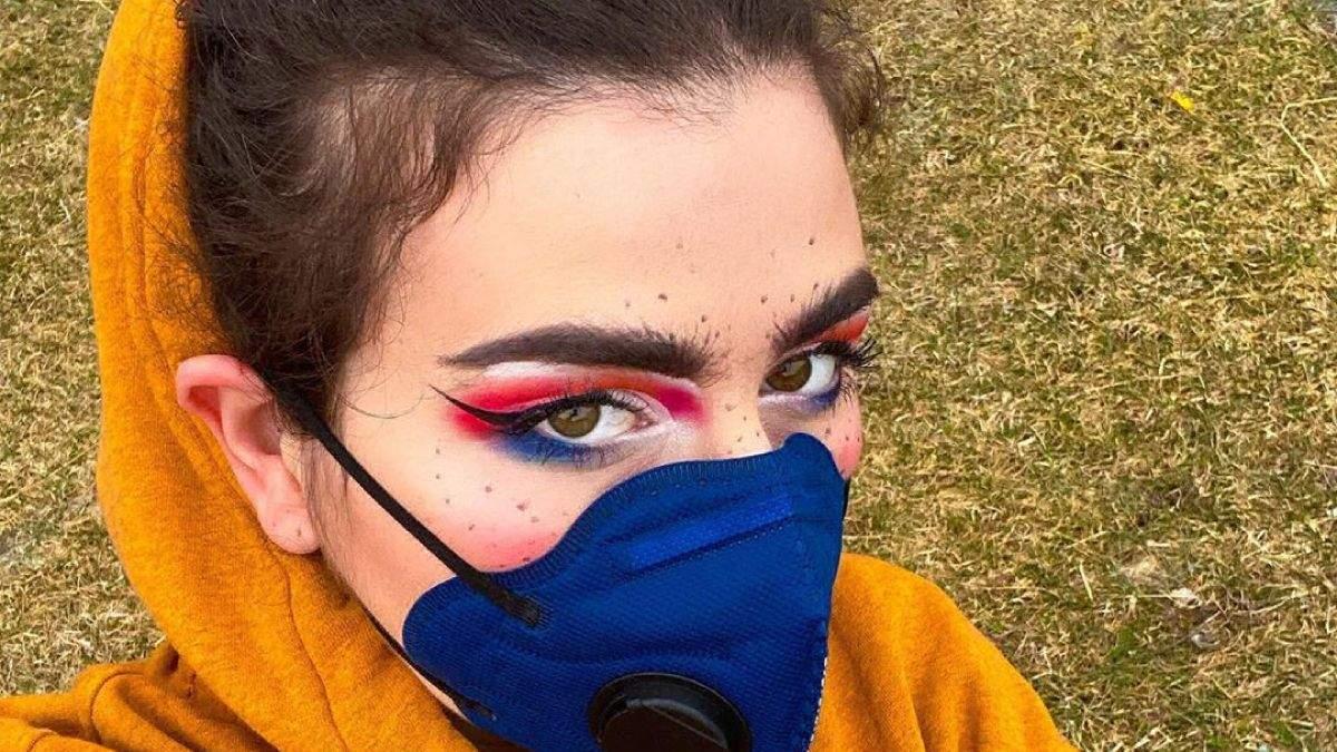 """Тренд """"оставайся дома"""": макияж и маникюр, как методы борьбы против коронавируса"""