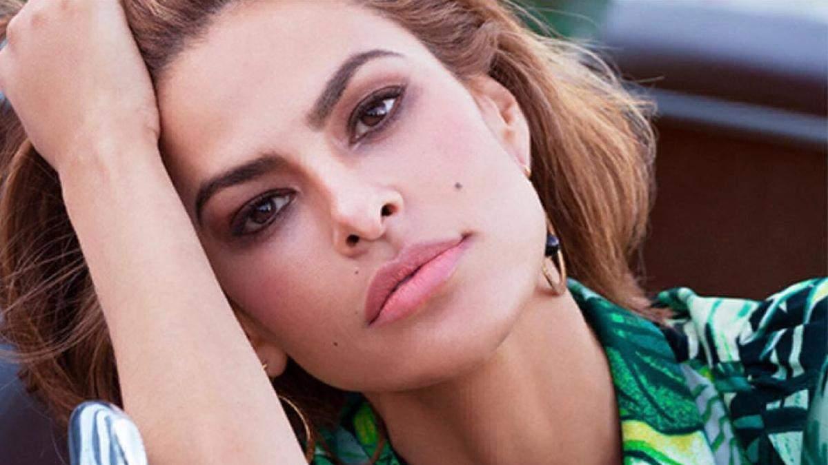 Ева Мендес: макияж от дочерей – результат на фото Красота 24
