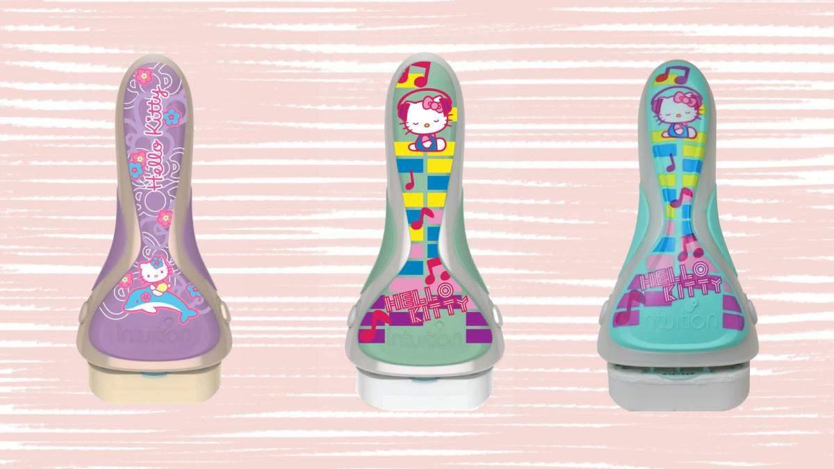 Новые милые бритвы для женщин с дизайном Hello Kitty фото