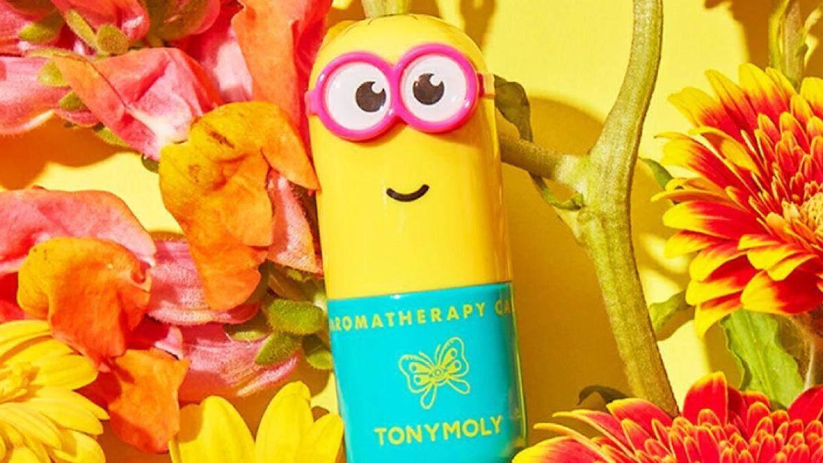 Косметика по уходу Tonymoly: тематика миньонов и фото