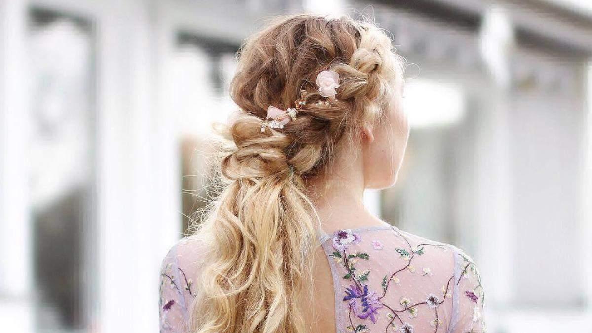 Какую прическу сделать на свадьбу: свадебные прически, плетения – фото