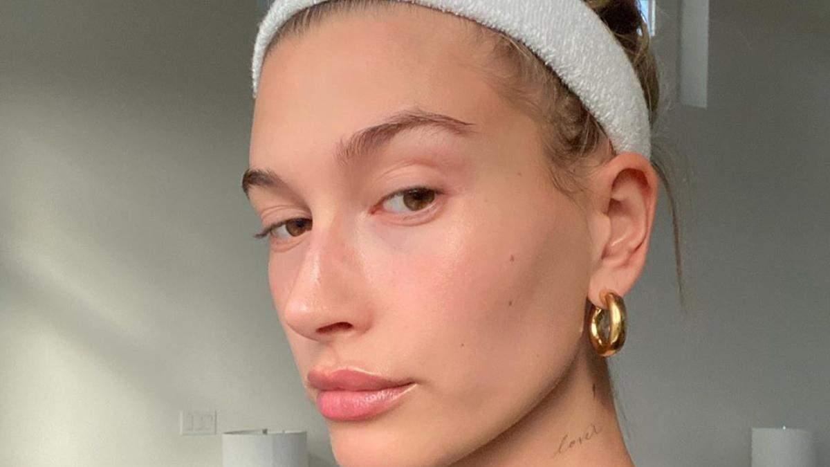 Как увлажнить сухую кожу лица: метод Хейли Бибер
