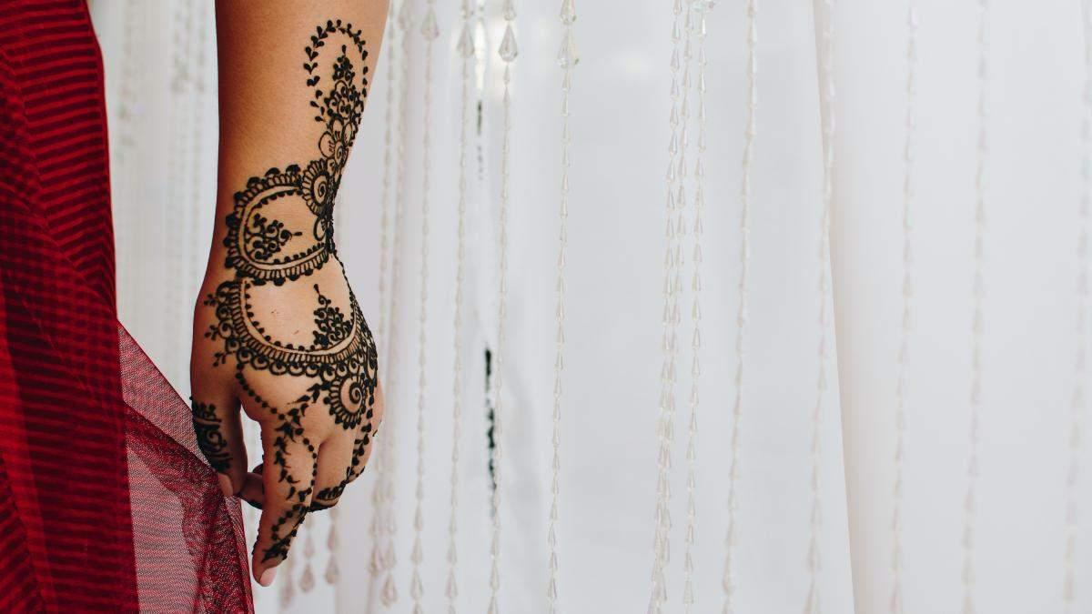 Временная татуировка: идеи для мехенди на теле