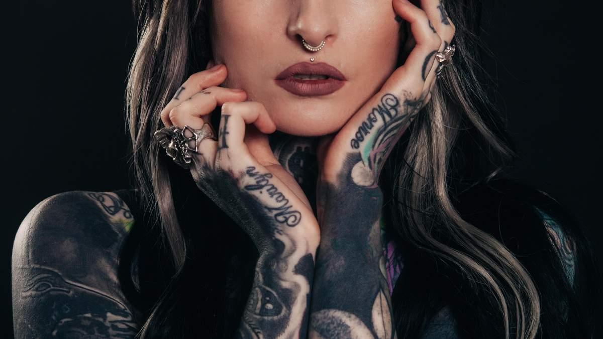 Где модно делать татуировки: тренд на татуировки 2020