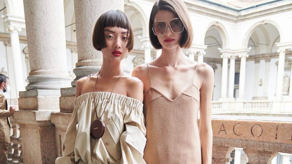 Бьюти-тренды с недели моды в Милане: макияж и прически