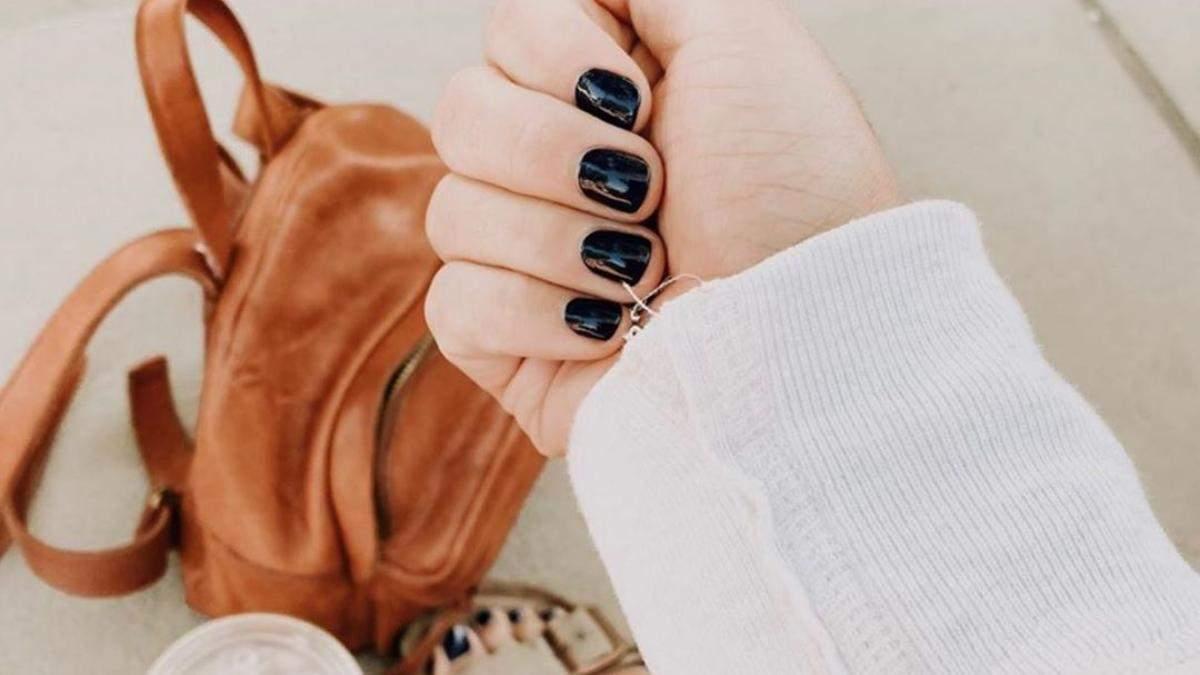 Маникюр на короткие ногти: 7 трендов осеннего маникюра