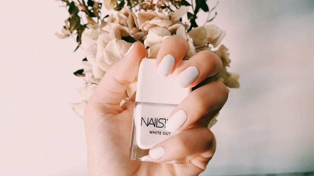 Тренд: Nails Inc выпустил экологический лак для ногтей