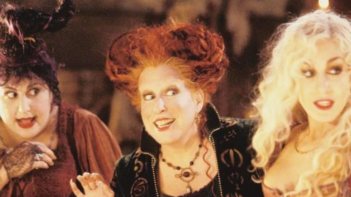 Магічна косметика для макіяжу на Гелловін за мотивами Фокус-покус