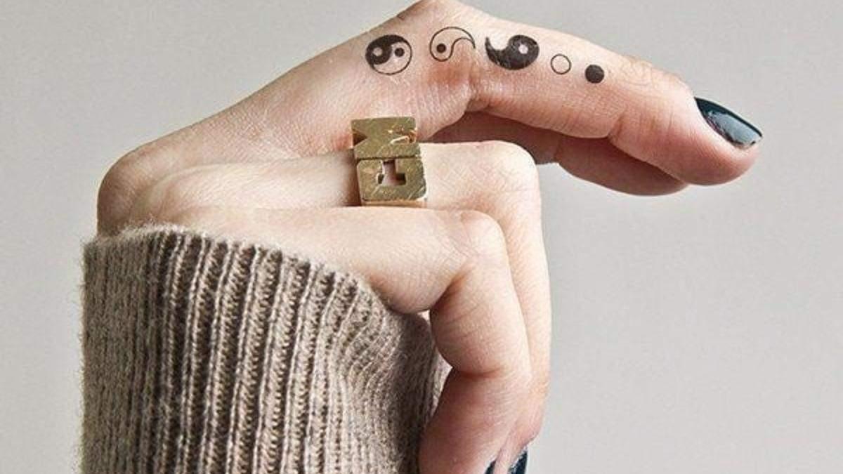 Татуювання з сенсом: що означає малюнок Інь-Янь на тілі