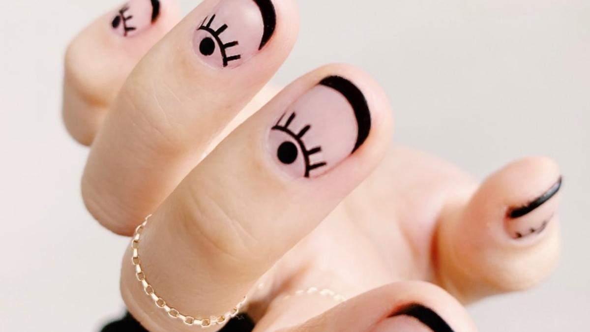 Маникюр на осень в черном цвете: 5 идей для вдохновения
