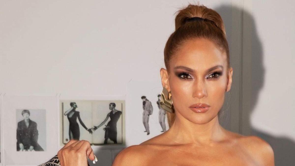 Модная осенняя челка 2020 на примере прически Дженнифер Лопес