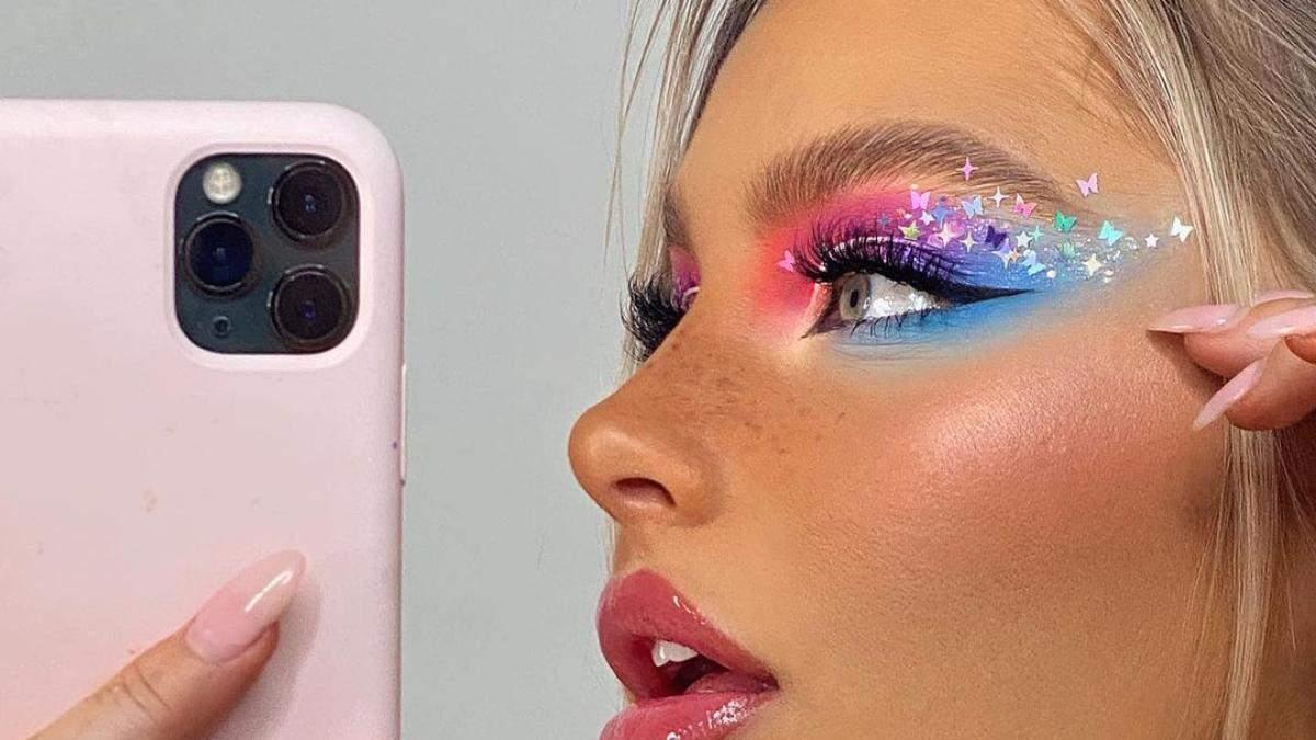 Тренд года – яркий макияж глаз: 5 модных идей и фото