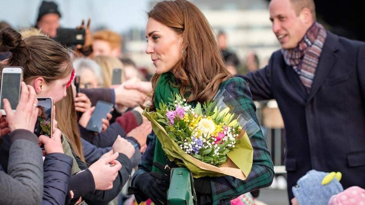 Королевская идея для окрашивания волос на зиму от Кейт Миддлтон