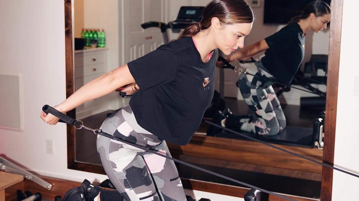 Як мати красиві і стрункі ноги без спорту: таємниця Міранди Керр