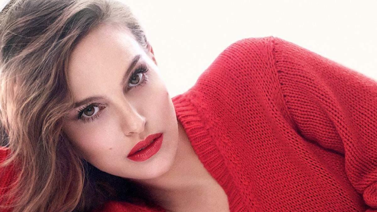 Натали Портман представила новую помаду Dior: видео
