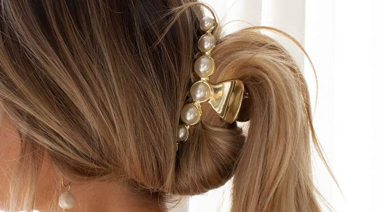 Прически с крабиками для волос: модные идеи