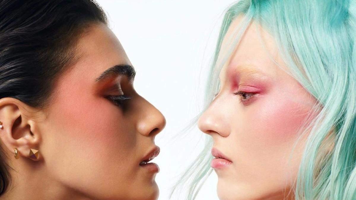 Valentino вразили першою колекцією макіяжу з моделями