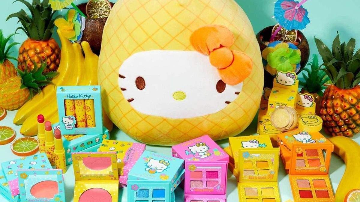 ColourPop представил косметику с Hello Kitty: фото и видео