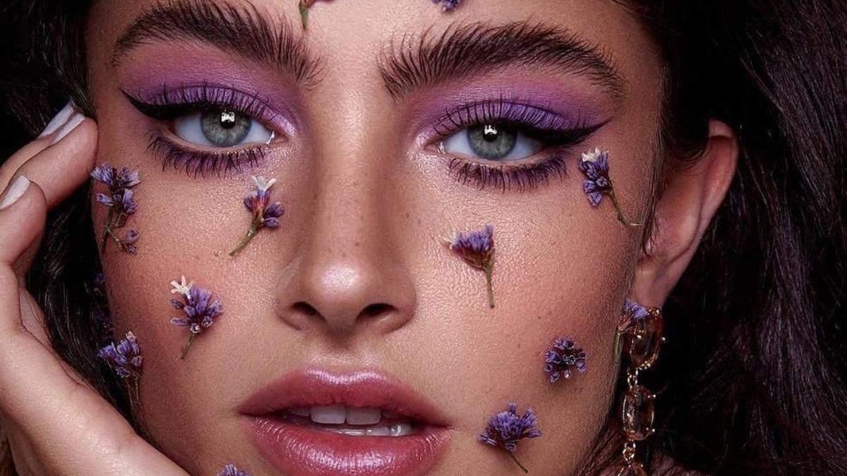 Модний лавандовий макіяж на літо: 7 ідей для б'юті-образу