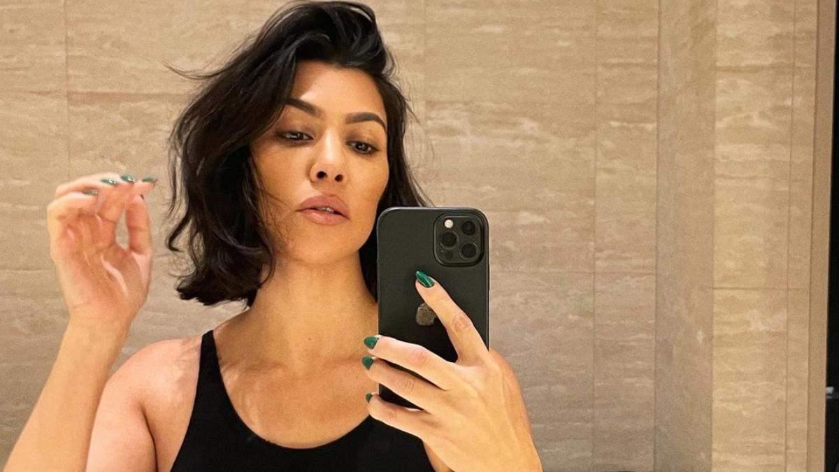 Очень коротко: Кортни Кардашян сделала самую модную стрижку осени 2021 – красивые фото