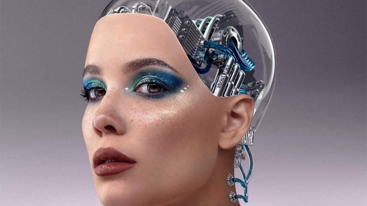 Веганская и посвящена космосу: Halsey запустила новую кампанию своего бьюти-бренда About-Face