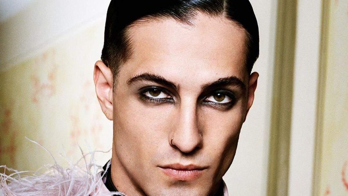 Для мужчин и женщин: как повторить впечатляющий макияж лидера группы Måneskin от Gucci