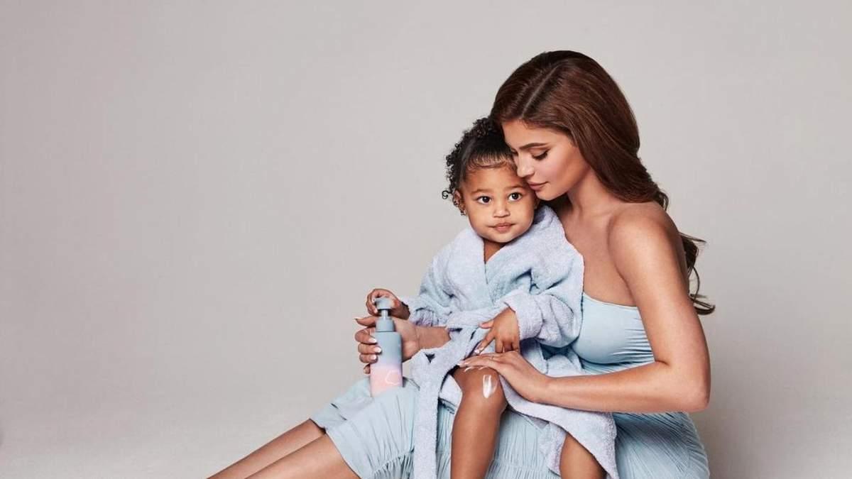Вагітна Кайлі Дженнер презентувала колекцію мрію – доглядову косметику для малюків - Краса