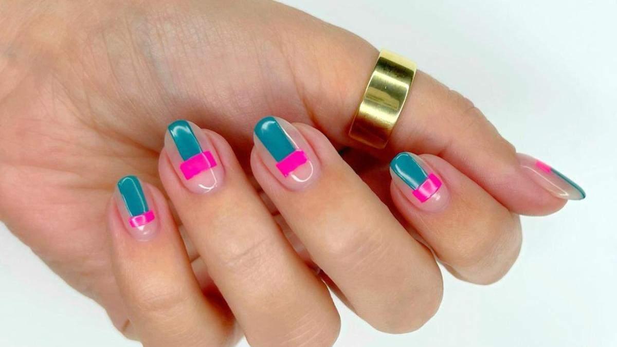 """Маникюр-мозаика: 7 модных идей нейл-дизайна с цветными """"кусочками"""" – яркие фото"""