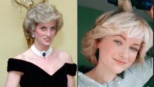 Девушка воссоздала знаменитую прическу принцессы Дианы: теперь их не отличить