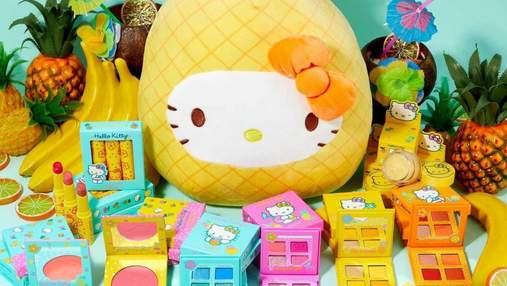 Посвятили Hello Kitty и тропическим фруктам: бьюти-бренд ColourPop представил яркую косметику