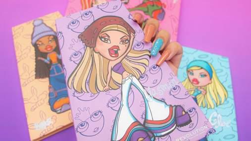 Куклы Bratz вернулись: Makeup Revolution выпустил символическую линейку косметики