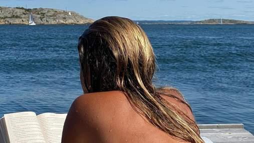 Фарбоване волосся у відпустці: як захистити колір локонів від сонця і соленої води