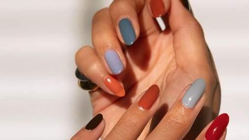 Колір янтарю та лаванди: 7 відтінків для неперевершеного однотонного манікюру