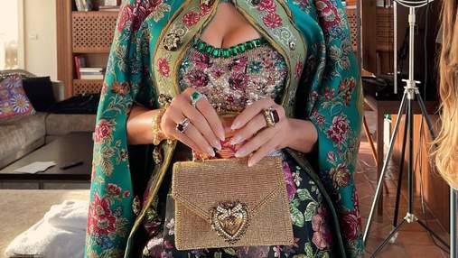 Дженніфер Лопес показала модний осінній манікюр для Dolce&Gabbana: розкішні фото