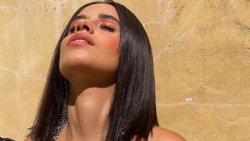 Стильний макіяж на осінь: Каміла Кабелло показала 3 ідеї з яскравими акцентами