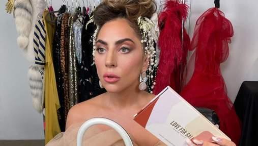 Леді Гага знову береться за косметику: які тіні для щоденного макіяжу презентувала співачка
