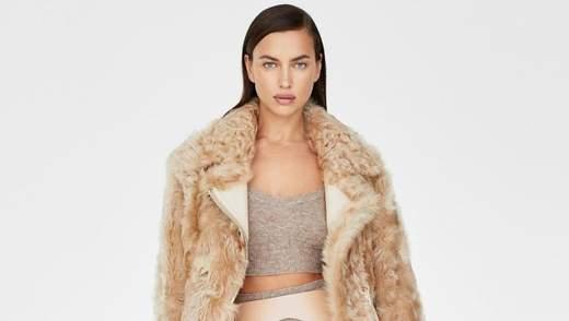 Оголена та зі золотими губами: Ірина Шейк знялася у б'юті-рекламі
